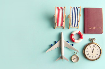 Travel vacation beach accessories