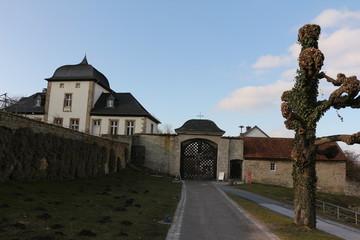 Eingangsbereich von Kloster Dalheim Im Paderborner Land