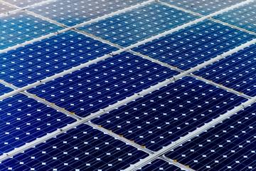 Solar panel surface