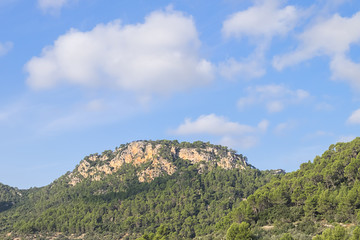 Interior Mountainous Area of Mallorca, Spain