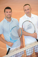 two tennis player