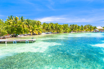 Belize, a tropical paradise in Central America.