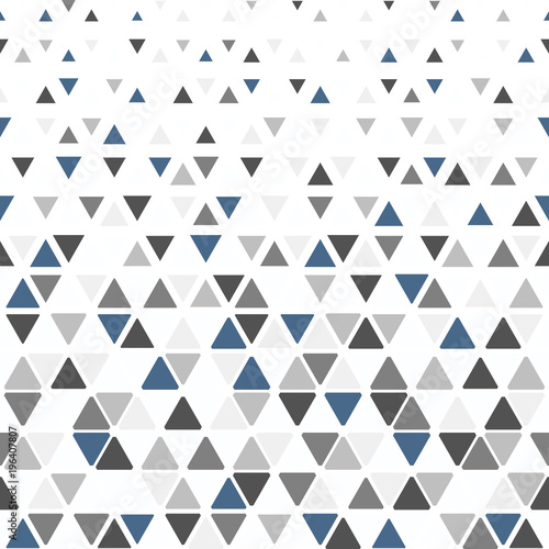 Abstract geometric pattern  Vector background  Black and