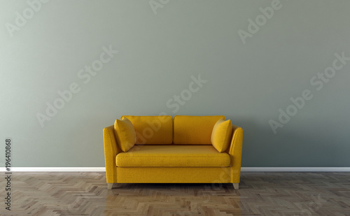 Remarkable Solo Sofa Interior 3D Illustration Stock Photo And Royalty Ibusinesslaw Wood Chair Design Ideas Ibusinesslaworg