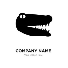gator company logo design template, Business corporate vector icon