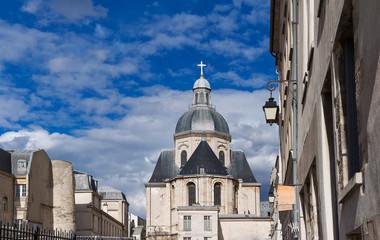 Church of Saint-Paul-Saint-Louis, Marais 4th arrondissement , Paris, France.