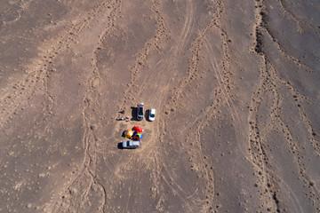 Camping in Desert, Semnan, Iran