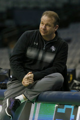 NCAA Basketball: NCAA Tournament-Dallas Practice