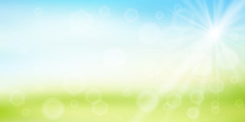 空 草原 風景 背景