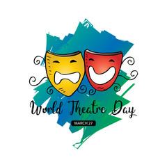 World Theatre Day concept