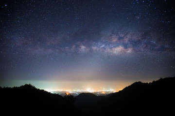 The Milky Way Mountain in Thailand