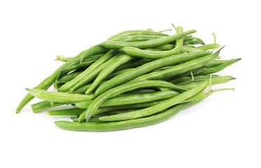 Green bean  isolated