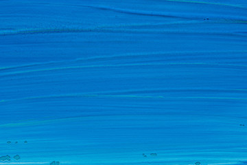 blue painted texture background