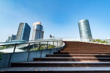 China Shanghai Lujiazui financial district