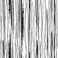 Vector grunge seamless texture of vertical hand-drawn ink lines.
