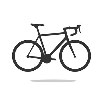 road bike silhouette,
