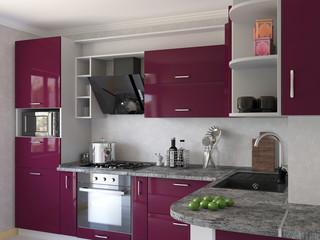 Modern kitchen at home..