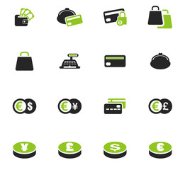 E-commers icons set