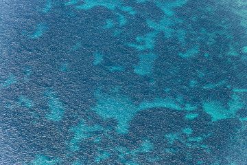 Aerial image of Mediterranean abstract water
