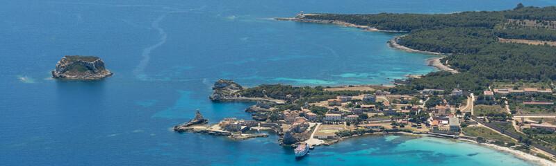 Aerial image of Isola de Pianosa (Pianosa Island)