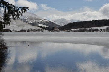 Lac de Guéry, Auvergne, France