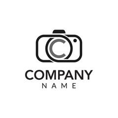 Photography vector logo icon illustration