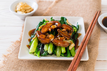 Hong Kong Kale stir fried in oyster sauce