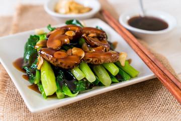 Hong Kong Kale stir fried in oyster sauce