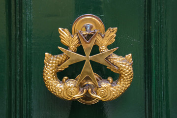 Malta, Türklopfer, Symbol