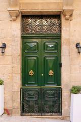 Malta, Tür, Vittoriosa, Symbol