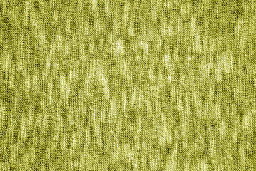 Yellow color knitting texture.