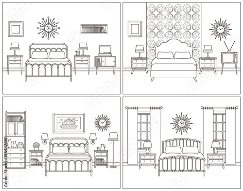 home furniture coloring pages - photo#28