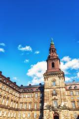 Copenhagen Folketing parliament Christiansborg Palace Denmark