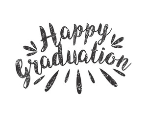 happy graduation alphabet typography font text image vector icon 2
