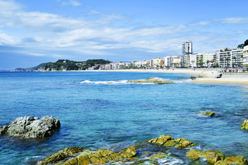 Lloret de Mar, in the Costa Brava, Spain