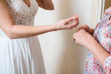 Bride Preparation at Home
