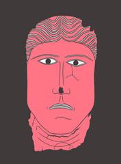 Roman Mask Man