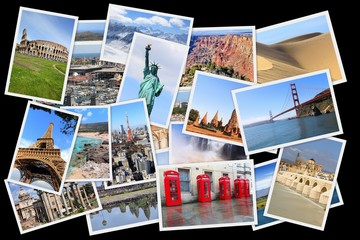 World landmarks photos