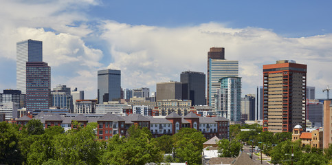 Denver, Colorado Skyline - July 2017