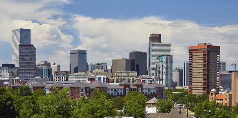 Denver, Colorado Skyline - July 2017