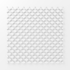 Abstract paper square 3d-render background.