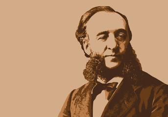 Jules Ferry - portrait - école - personnage historique - personnage célèbre - enseignement - histoire