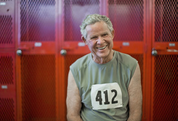 Portrait of a smiling senior man.