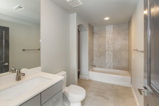 New Construction Luxury Bathroom