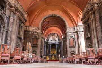 intérieur de l'église São Domingos Lisbonne Portugal