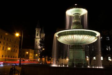 springbrunnen in münchen