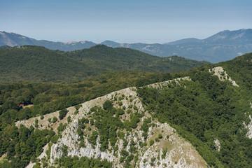 Aerial image of Monte Gemma in the region of Lazio