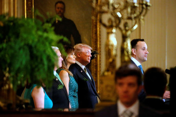 Trump welcomes Ireland's Varadkar to the White House