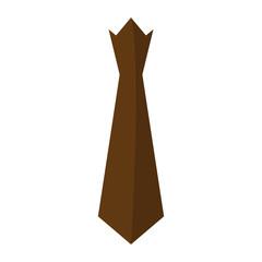 Isolated necktie icon