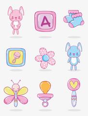 Cute cartoons for babys